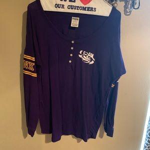 LSU long sleeve shirt